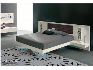 Светлая кровать - Мебельная фабрика «NIKA premium»