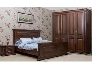 Коричневая спальня Жозефина  - Мебельная фабрика «Астмебель»