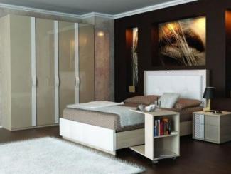 спальный гарнитур Бейлис комплект. 1 - Мебельная фабрика «Любимый дом (Алмаз)»