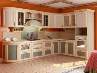 кухня угловая Кантри - Мебельная фабрика «Любимый дом (Алмаз)»