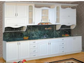 кухня прямая Классика 7 МДФ - Мебельная фабрика «Долес»