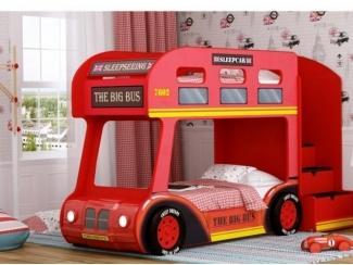 Двухъярусная кровать-Aвтобус London Люкс - Мебельная фабрика «Red River»