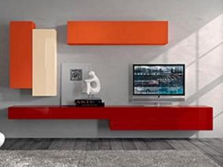 Гостиная стенка хай - тек - Изготовление мебели на заказ «Мега»