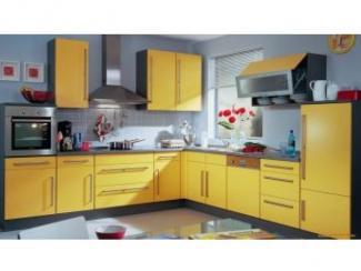 Кухонный гарнитур Светло-желтый - Мебельная фабрика «Московский мебельный альянс»