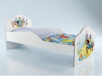 Кровать Рыцарь Грифон базовая - Мебельная фабрика «Грифон Стайл»