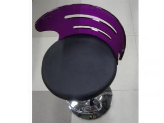 Стул барный Черный со спинкой - Мебельная фабрика «Династия»