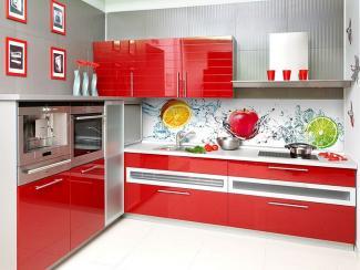 Кухонный гарнитур угловой 2 фотопечпть - Мебельная фабрика «Виктория»