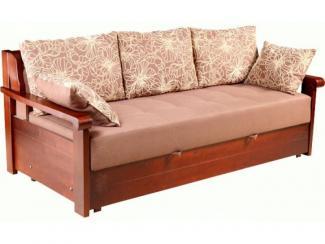 Диван прямой Еврокнижка - Мебельная фабрика «Эко-мебель»