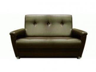Офисный диван в темном цвете Клерк