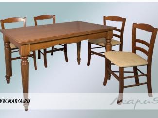 Обеденная зона «Borgo» - Мебельная фабрика «Мария»