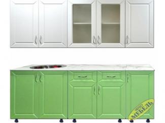 Кухня прямая 77 - Мебельная фабрика «Трио мебель»