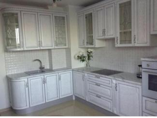 Белая угловая кухня - Мебельная фабрика «Настоящая Мебель»