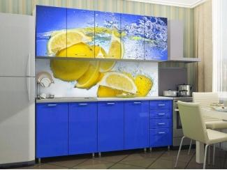 Яркая кухня Лимон  - Мебельная фабрика «СОЮЗ»