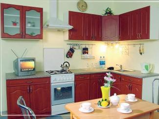 Кухонный гарнитур угловой Вишня - Мебельная фабрика «Эстель»
