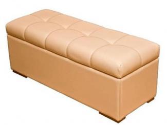 Пуф большой с ящиком - Мебельная фабрика «Лина-Н»
