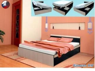Кровать ПМ - Мебельная фабрика «Грааль»