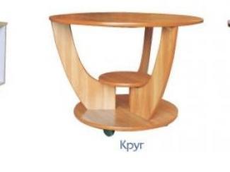 Стол журнальный Круг - Мебельная фабрика «Феникс»