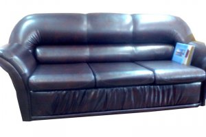 Диван прямой кожа - Мебельная фабрика «Лина-Н»
