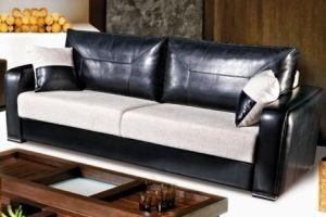 Диван прямой Лион 2 - Мебельная фабрика «АРТмебель»