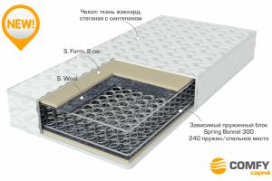 Матрас с блоком зависимых пружин Optimal - Мебельная фабрика «Сарма»