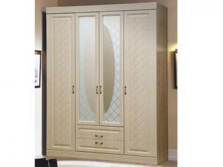 Шкаф для платья и белья фасад сага - Мебельная фабрика «РиАл»