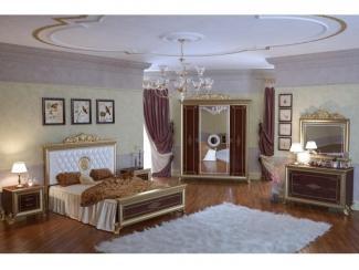 Дорогая спальня Версаль орех 1 - Мебельная фабрика «Мэри-Мебель»