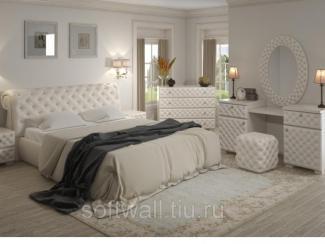 Спальня Джульетта - Мебельная фабрика «SoftWall», г. Омск