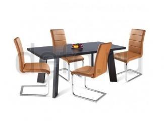 Обеденная группа Стол Лиден 9255 -Стул Трэк   - Мебельная фабрика «Дэфо»