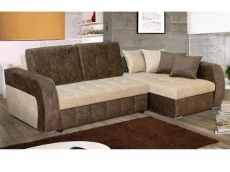Угловой диван с широким спальным местом Марсель