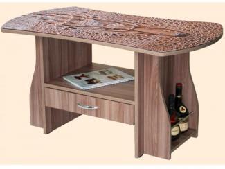 Стол журнальный 19 фотопечать - Мебельная фабрика «ВиТа-мебель»