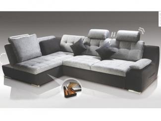 Стильный диван-кровать с подголовниками Монреаль - Мебельная фабрика «Восток-мебель»