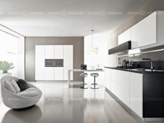 Кухня Светлана Белый жемчуг - Мебельная фабрика «Кухни Премьер»