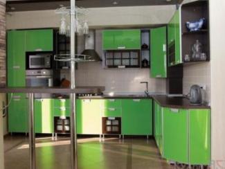 Кухонный гарнитур угловой Яблочный спас - Мебельная фабрика «Кухни-АСТ»