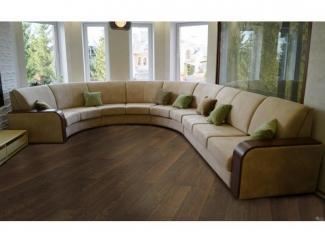 Современный полукруглый диван  - Мебельная фабрика «Евростиль», г. Казань