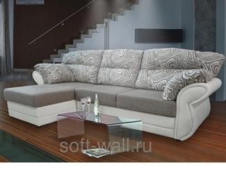 Светлый угловой диван Комфорт  - Мебельная фабрика «SoftWall», г. Омск