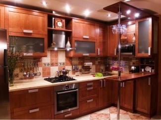 Кухонный гарнитур Береза цвет миланский орех