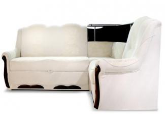 Угловой диван Ксения с баром - Мебельная фабрика «Идиллия»
