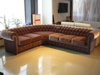 Диван угловой Честерфилд - Мебельная фабрика «Capitone Room (Soft-Wall)»
