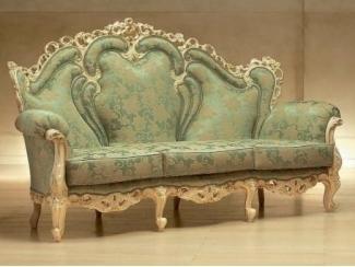 Зеленый прямой диван Alba - Импортёр мебели «Spazio Casa»