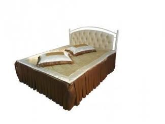 Кровать двойная металлическая Диана-1400 - Мебельная фабрика «Металл конструкция» г. Майкоп