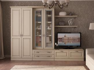 Гостиная стенка Валенсия 2 - Мебельная фабрика «Рось»
