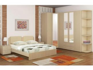 Спальный гарнитур «Блюз» - Мебельная фабрика «Элегия»