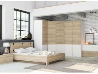 Спальня Лозанна 2 - Мебельная фабрика «Артис»