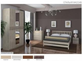 Спальня Массив - Мебельная фабрика «Боровичи-Мебель»