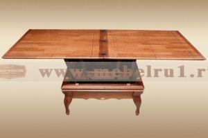 Стол-трансформер Барокко - Мебельная фабрика «Лидер Массив»