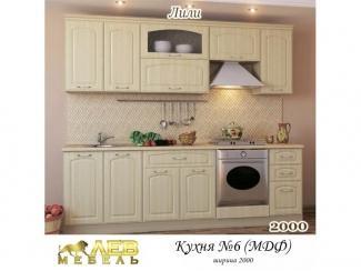 Кухня МДФ 6 Лили - Мебельная фабрика «Лев Мебель»