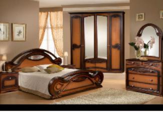 Спальный гарнитур «Марианна 46» - Мебельная фабрика «Слониммебель»