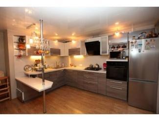 Угловая кухня с барной стойкой - Салон мебели «Красивые кухни»