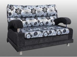 Прямой диван с цветами Бенефис  - Мебельная фабрика «Каскад-мебель»