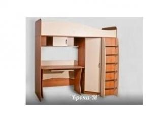 Кровать-чердак + стол - Мебельная фабрика «Крона-М»